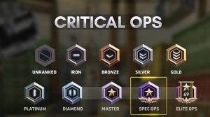 Critical Ops New Rank Season